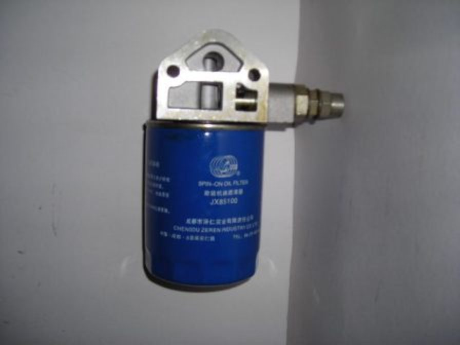 Lenar Tractor Parts : Filter oil jx c with mount w